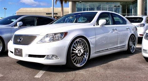 lexus forgiato lexus ls white car gallery forgiato