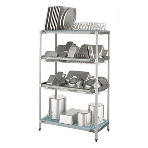 Commercial Kitchen Racks by Buy Metro Pr48x3 Metromax I Stationary Drying Rack Unit
