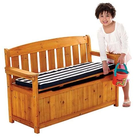 kids storage bench with cushion 107 best images about children s wooden outdoors play