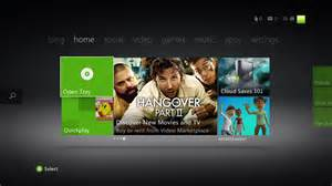 xbox home the logged in xbox live dashboard is alive with premium