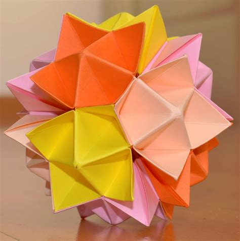 Spike Origami - kusudama spike how to make tutorial