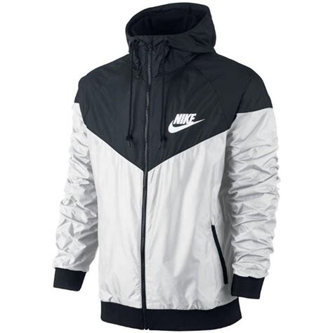 Jaket Sweater Hoodie Nike Black nike windrunner jacket windbreaker s hoodie black white 544120 100