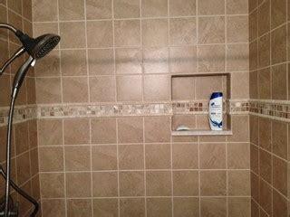custom tile shower traditional bathroom new york