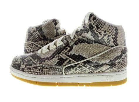 Sepatu Sneaker Snake Leather Semprem 01 7 nike air python snakeskin available now weartesters