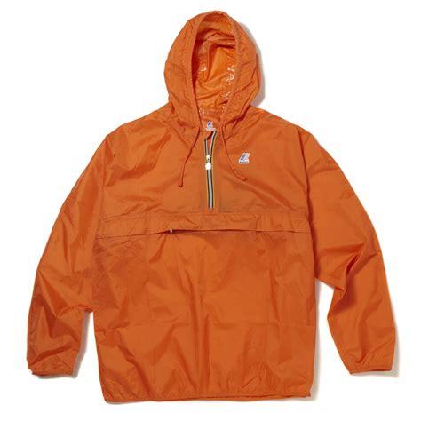 ebay zips k way unisex leon classic half zip waterproof hooded