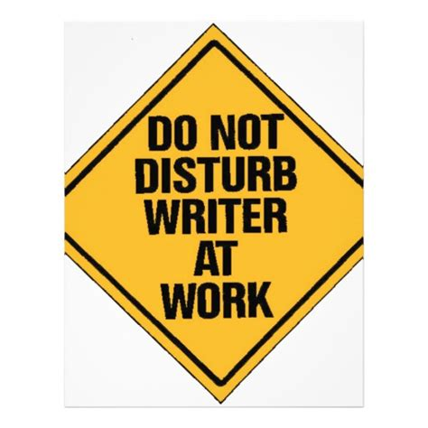 Do Not Do This At Home by Do Not Disturb Writer At Work Letterhead Zazzle