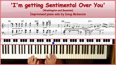 tutorial piano keep being you i m getting sentimental over you jazz piano tutorial
