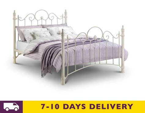 king size metal bed julian bowen florence 5ft king size metal bed
