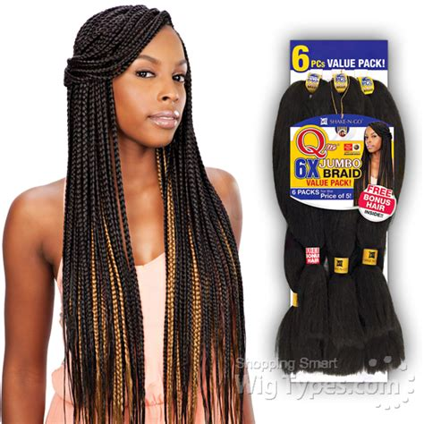 a picture of a pack of kanekolon extra long hair que kanekalon braiding hair que kanekalon braiding hair