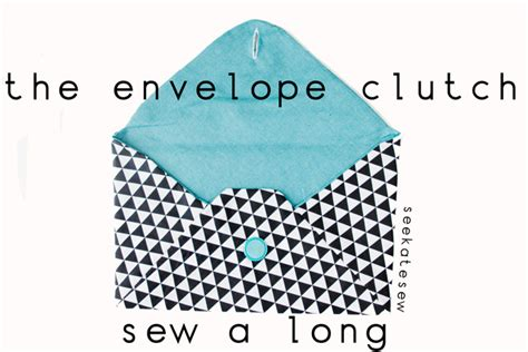 pattern envelope bag announcing the february clutch a long sign ups see