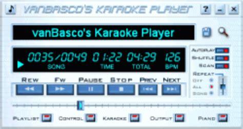 free download software karaoke player full version vanbasco karaoke player download