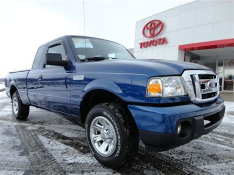 how cars engines work 1997 ford ranger electronic toll collection buy used 2010 ranger supercab 4x2 4 cyl automatic xlt 33k miles clean carfax video 2wd in
