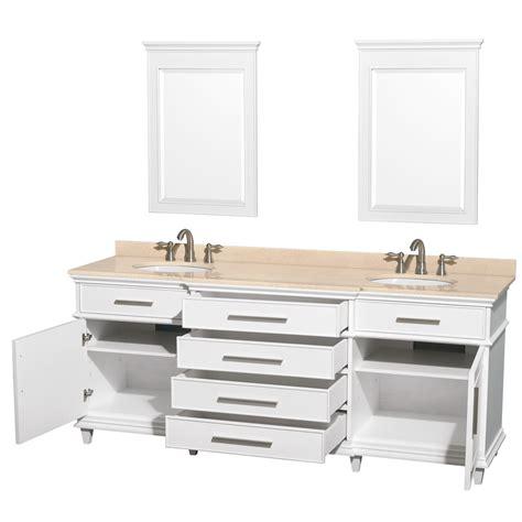 avola 80 inch classic white finish sink