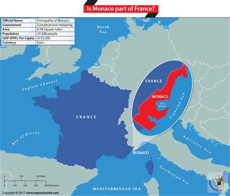 monaco europe map monaco map images