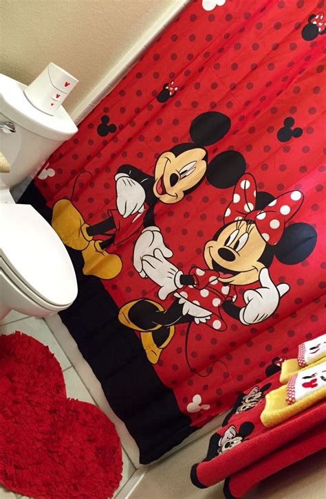 minnie and mickey bathroom decor best 25 mickey mouse curtains ideas on pinterest mickey