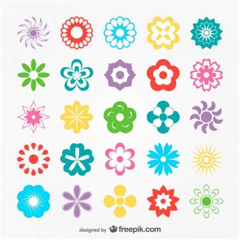 imagenes flores simples pack de flores simples descargar vectores gratis