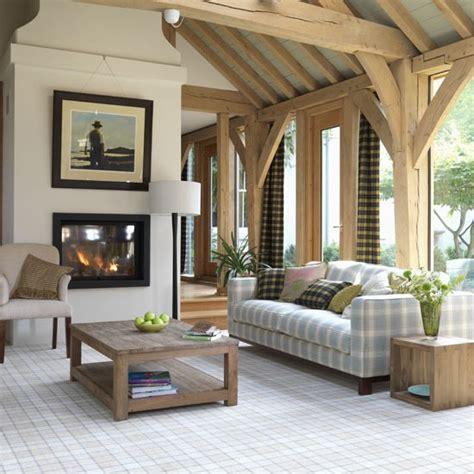Highland Themed Living Room by Modern Highland Style Living Room Living Rooms Living