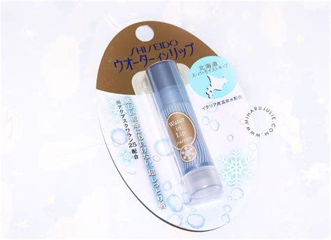 Shiseido Water In Lip 3 5g shiseido water in lip balm review indonesia and