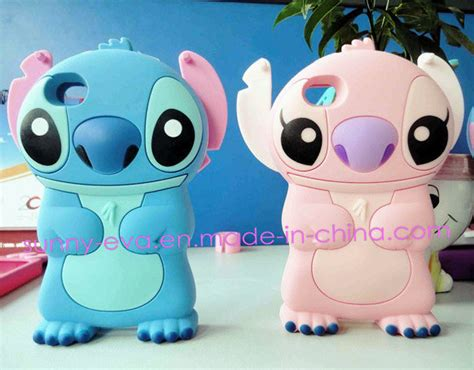 Handset Stitch 2 china silicone phone with stitch shaped for