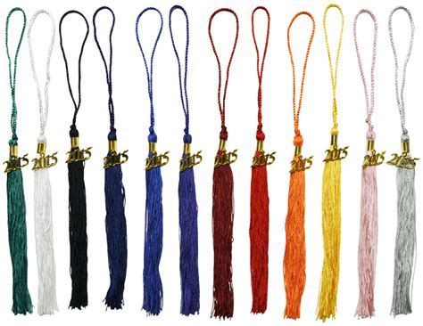 graduation tassel colors one color graduation tassels 9 inch tassel