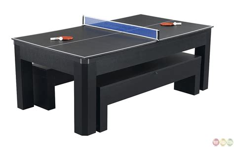 7 foot multi games table park avenue multi game 7 ft pool table bench ping pong