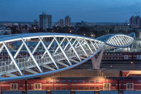High Tech Architektur by The High Tech Park Bridge Architektur