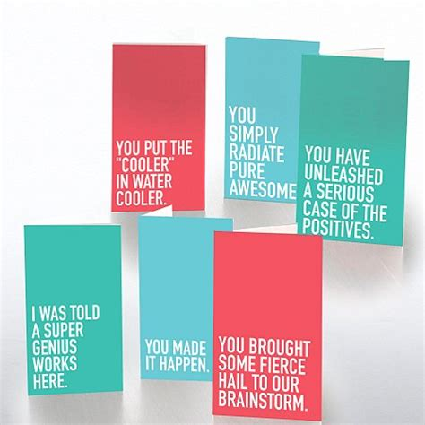 free printable birthday cards for employees pocket praise exclamations assortment at baudville com