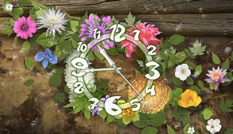 flower clock themes software flower clock theme downlod search results calendar 2015
