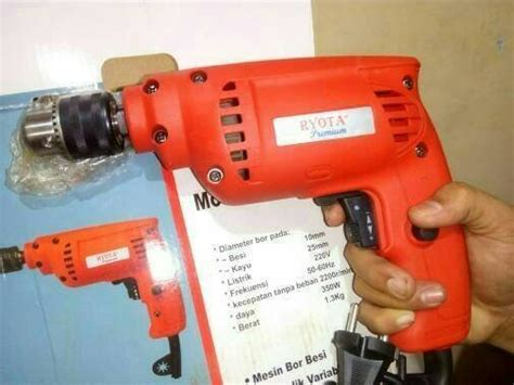 Mesin Bor Tangan Krisbow jual mesin bor 10mm variable speed 2arah bor tangan