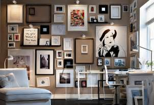 Gallery Wall Ideas by Creative Gallery Wall Ideas