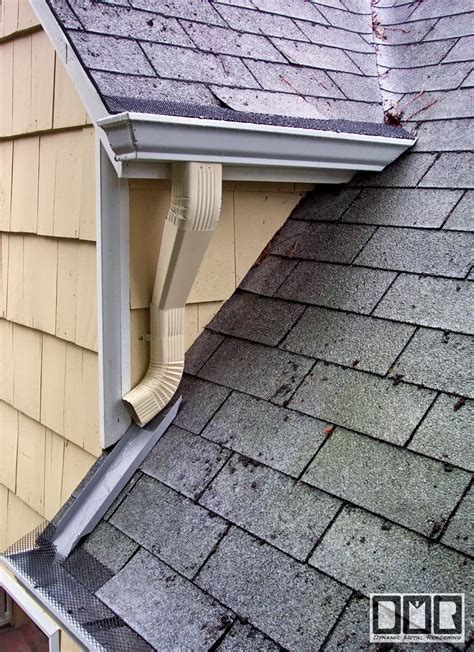 roof how should the gutters be installed on a gable