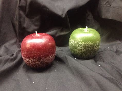 Apple Candle apple candles wick d wax creations