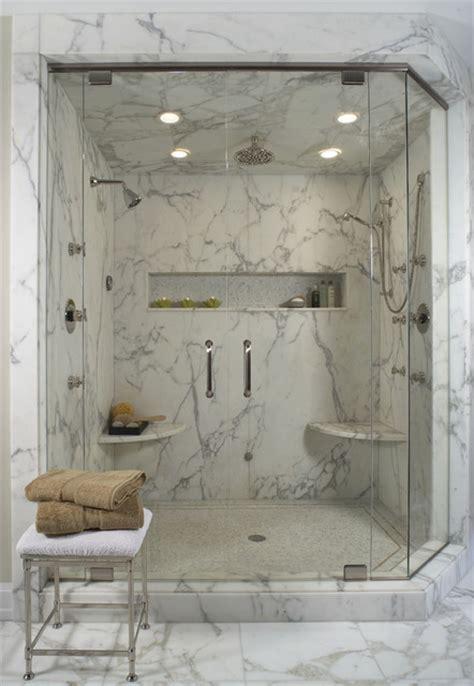bathroom suck white marble shower contemporary bathroom detroit