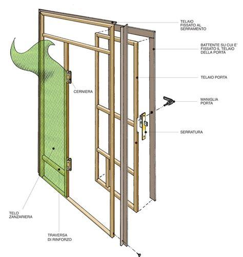 costruire una porta in legno costruire una zanzariera per portafinestra fai da te