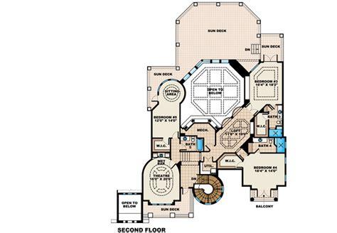 casa de sol dual master suite floorplans la casa del sol ii 66234we 1st floor master suite