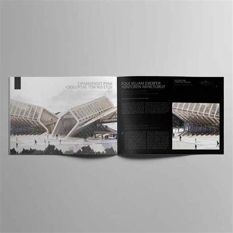 landscape layout in indesign architecture portfolio a4 landscape template cmyk