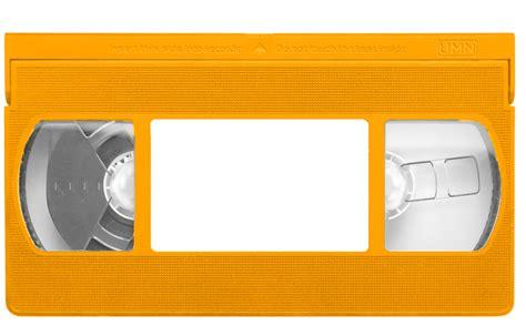 vhs label template orange vhs template by djwalker2000 on deviantart