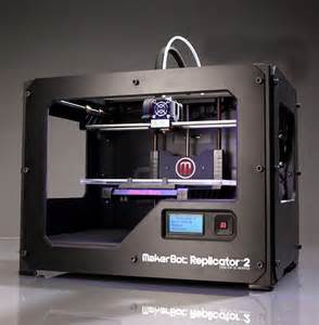 Makerbot replicator 2 desktop 3d printer prints just about anything