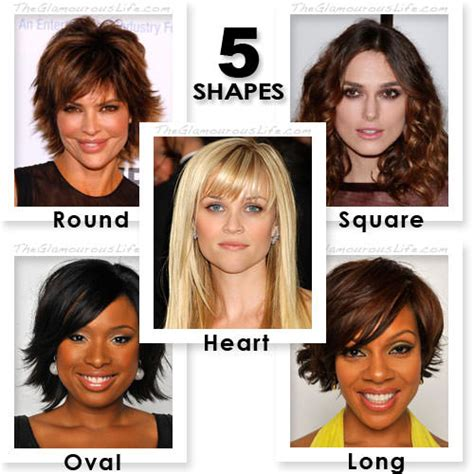 hair for certain face shapse face shapes and hairstyles hairstyles to suit a long face
