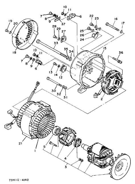 yamaha ec5000dv generator wiring diagram yamaha free
