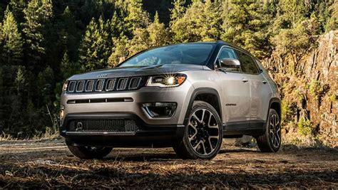 silver jeep compass jeep compass 2018 review carsguide