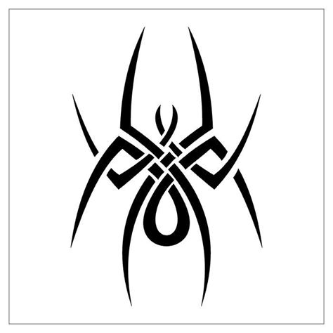 tribal tattoo spider spider tattoos page 25
