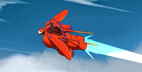 Flying Baymax the of kevin nelson from big 6 early gogo from