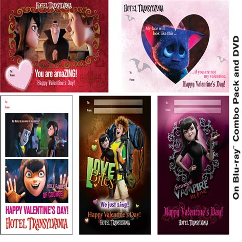 I Hotel Gift Card Reviews - hotel transylvania printables valentine s day cards