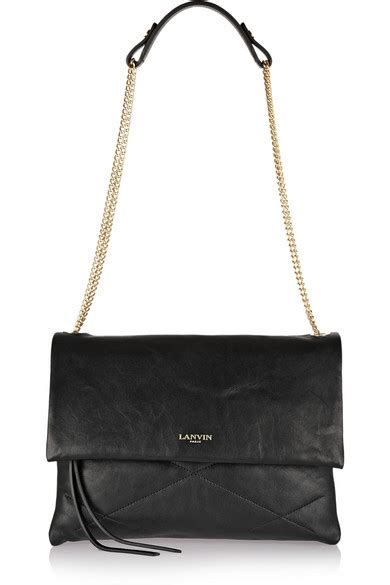 Fashion The Thing I Today Lanvin Bags Second City Style Fashion Second City Style 4 2 by Lanvin Sugar Quilted Leather Shoulder Bag Net A Porter