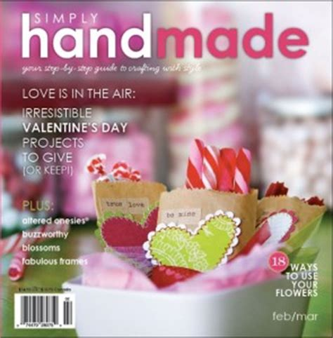 Simply Handmade Magazine - creative scrapbooking magazine scrapbooks magazine