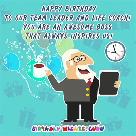 Happy Birthday Wishes To Team Member Birthday Wishes For Boss