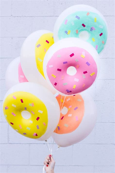 Balon Donut diy donut balloons for kidsomania