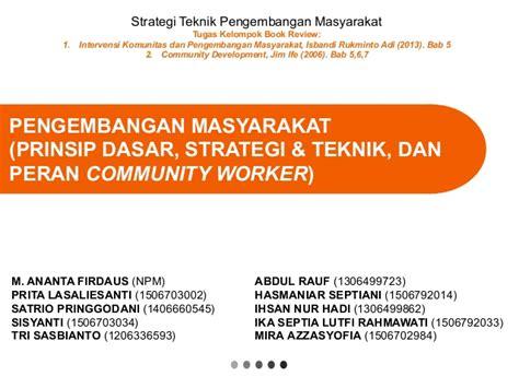 Strategi Dan Teknik Negosiasi strategi teknik pengembangan masyarakat