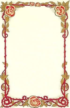 programas para decorar hojas word bordes con flores para word para portadas